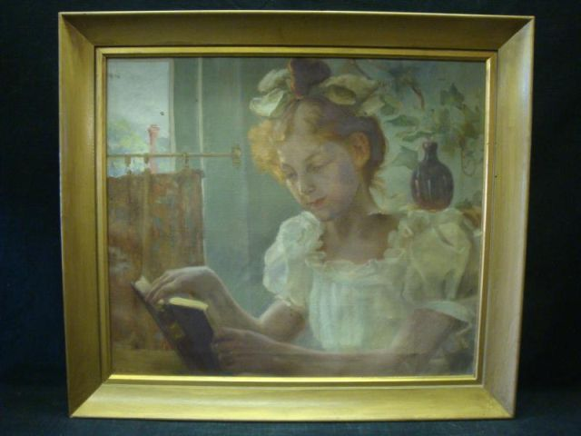 emma_eilers_girl_in_white_reading_a_book_Frame
